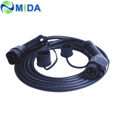 16A 32A Type 1 to Type 2 EV Charging Cable